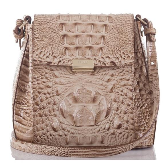 846177c2a Brahmin Handbags - Brahmin Margo Melbourne Crossbody in Travertine